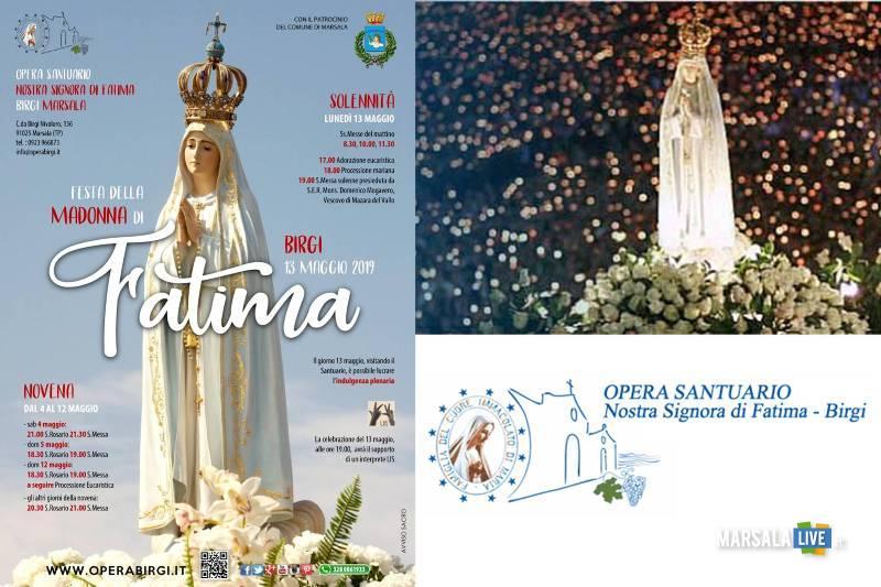 festa della madonna di fatima, marsala 2019