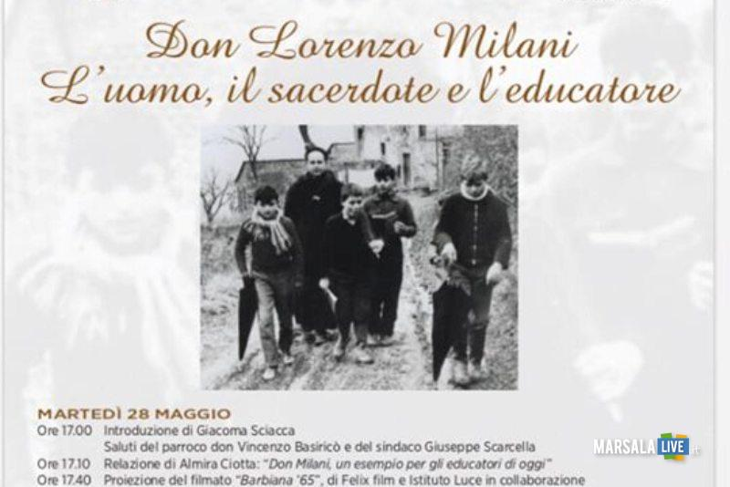 locandina don Milani paceco 2019