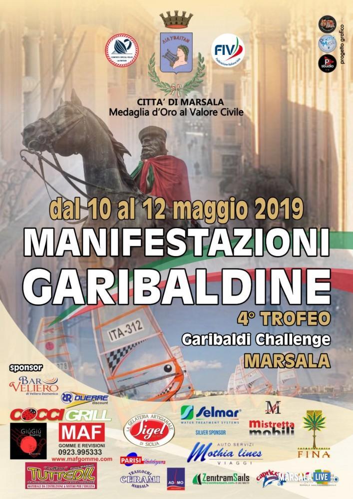 manifestazioni garibaldine, marsala 2019 - locandina