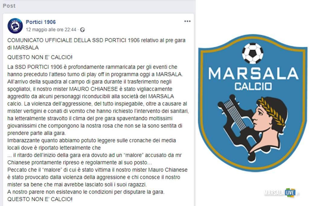 marsala calcio portici