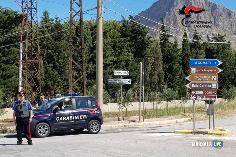 rotonda corn - carabinieri