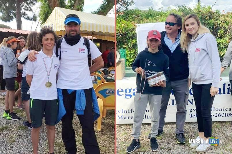 siciliani campionato mondiale e Campionato europeo giovanile Optimist