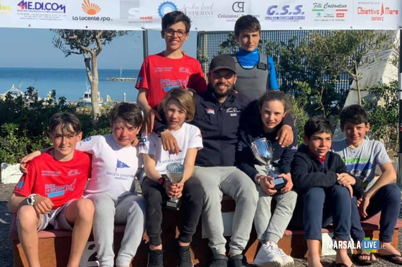 squadra Optimist Canottieri Marsala