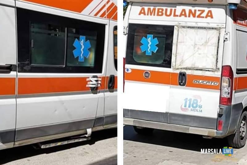 118 petrosino, ambulanza rizzo Luciano 2019
