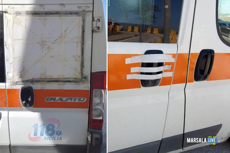 118 petrosino, ambulanza rizzo Luciano