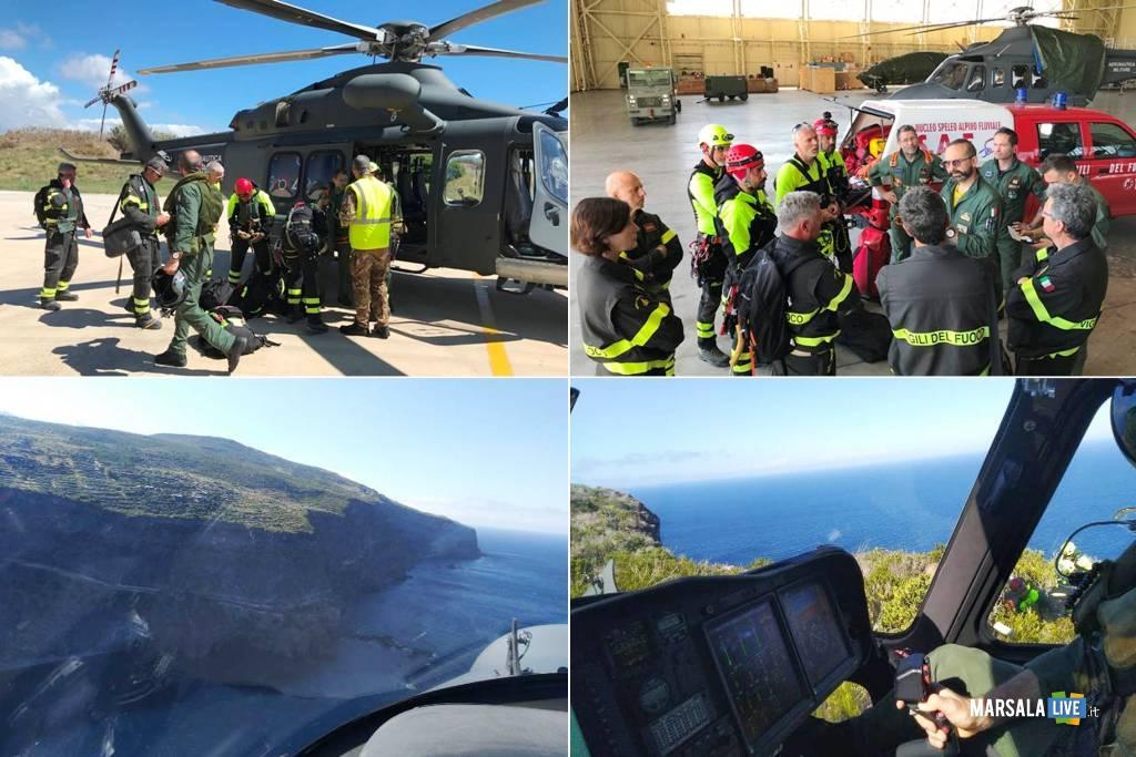 Aeronautica Militare, ricerca disperso Isola Pantelleria 1
