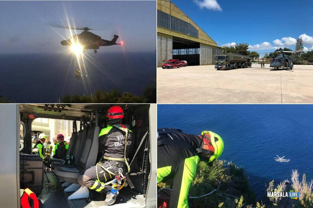 Aeronautica Militare, ricerca disperso Isola Pantelleria 3