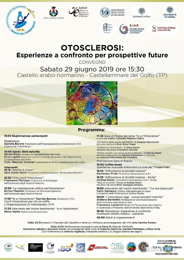 Convegno otosclerosi Castellammare