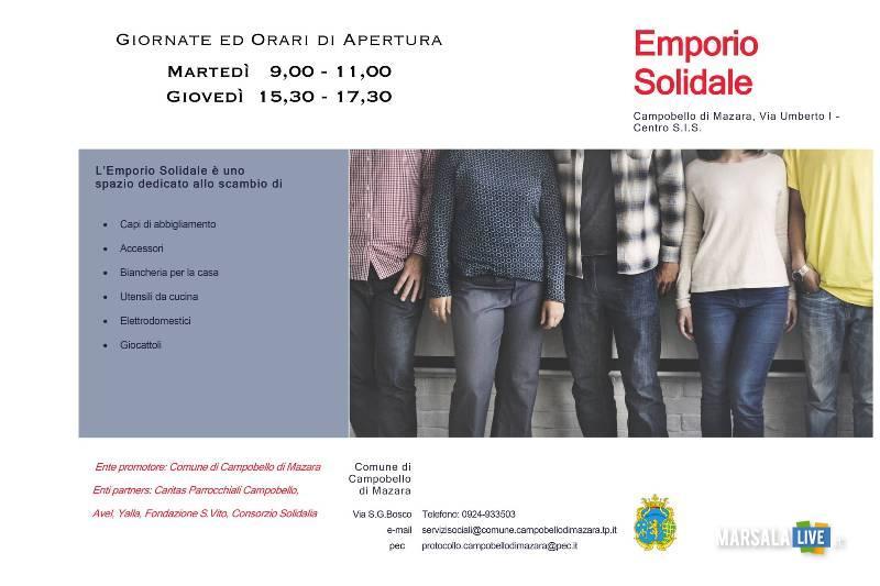Emporio Solidale, Campobello di Mazara
