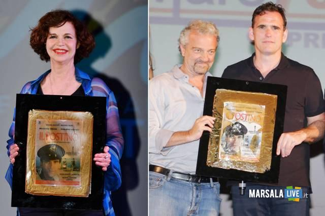 Giovanni Veronesi, Matt Dillon, Anna Galiena ritirano Premio Troisi