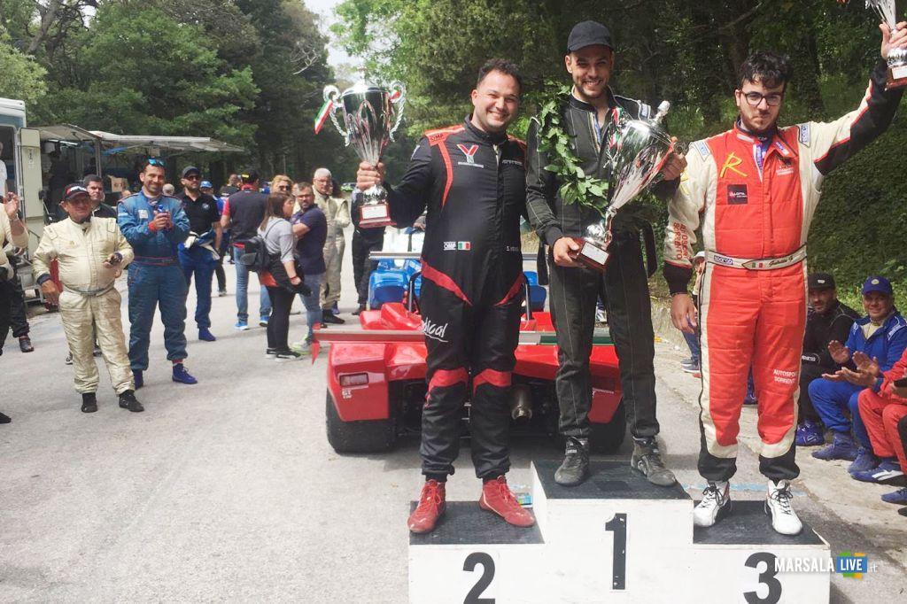 Giuseppe Castiglione vince 17° Slalom Agro Ericino