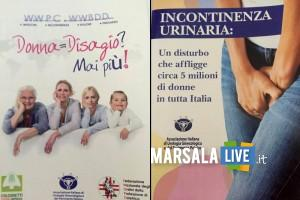 Incontinenza urinaria, open day asp trapani