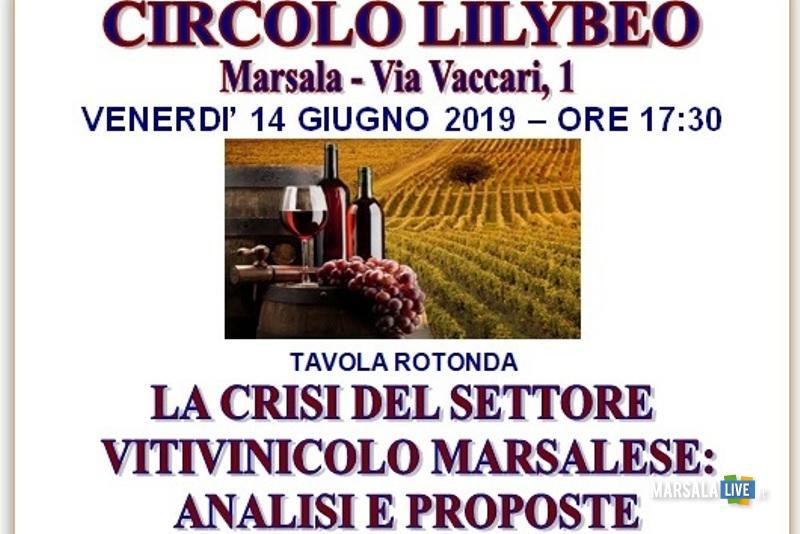 La crisi del settore vitivinicolo marsalese, analisi e proposte