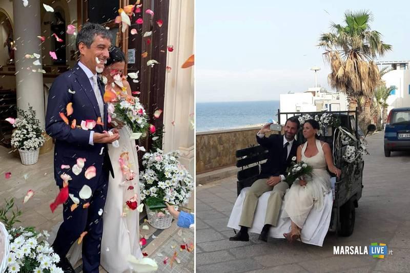 Le Egadi isole dell'amore, matrimonio da favola a Marettimo