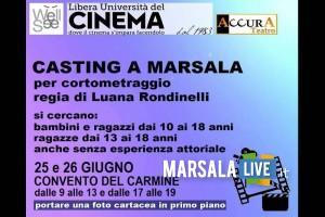 Marsala, casting di Luana Rondinelli