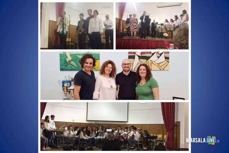 Marsala, concerto di fine anno alla Luigi Sturzo, 2019.