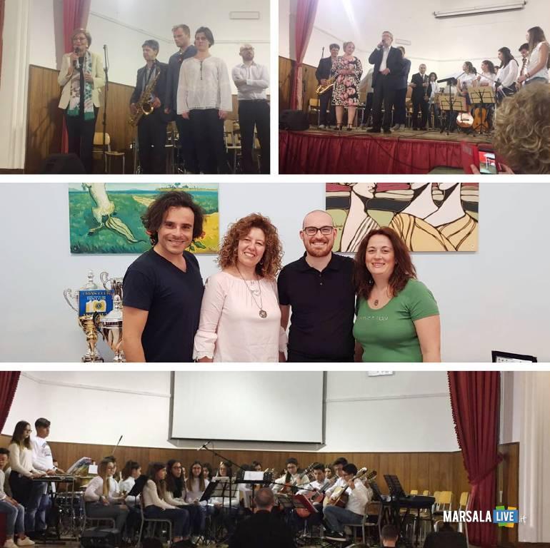 Marsala, concerto di fine anno alla Luigi Sturzo, 2019