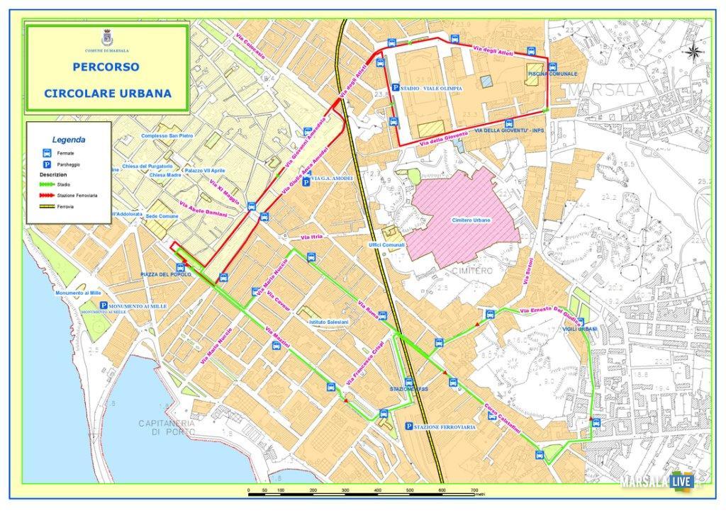 Marsala, trasporto urbano, orario estivo (1)