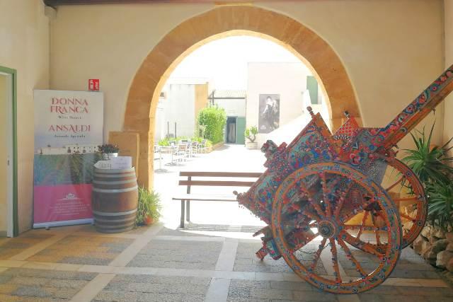 Marsala un Open Day Frutto di Sicilia, baglio donna franca (1)