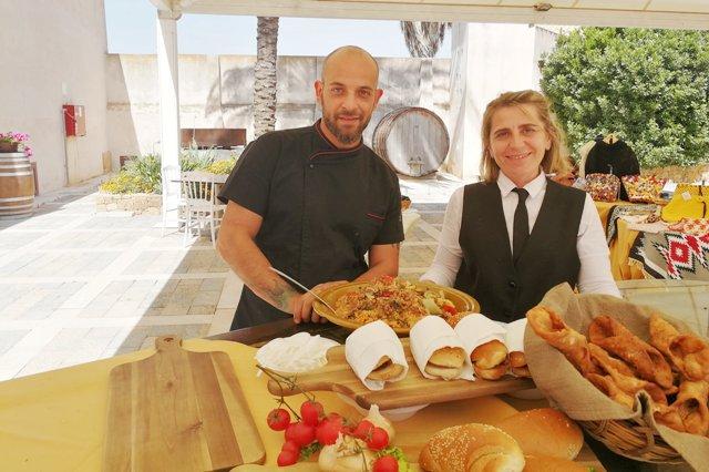 Marsala un Open Day Frutto di Sicilia, baglio donna franca (7)