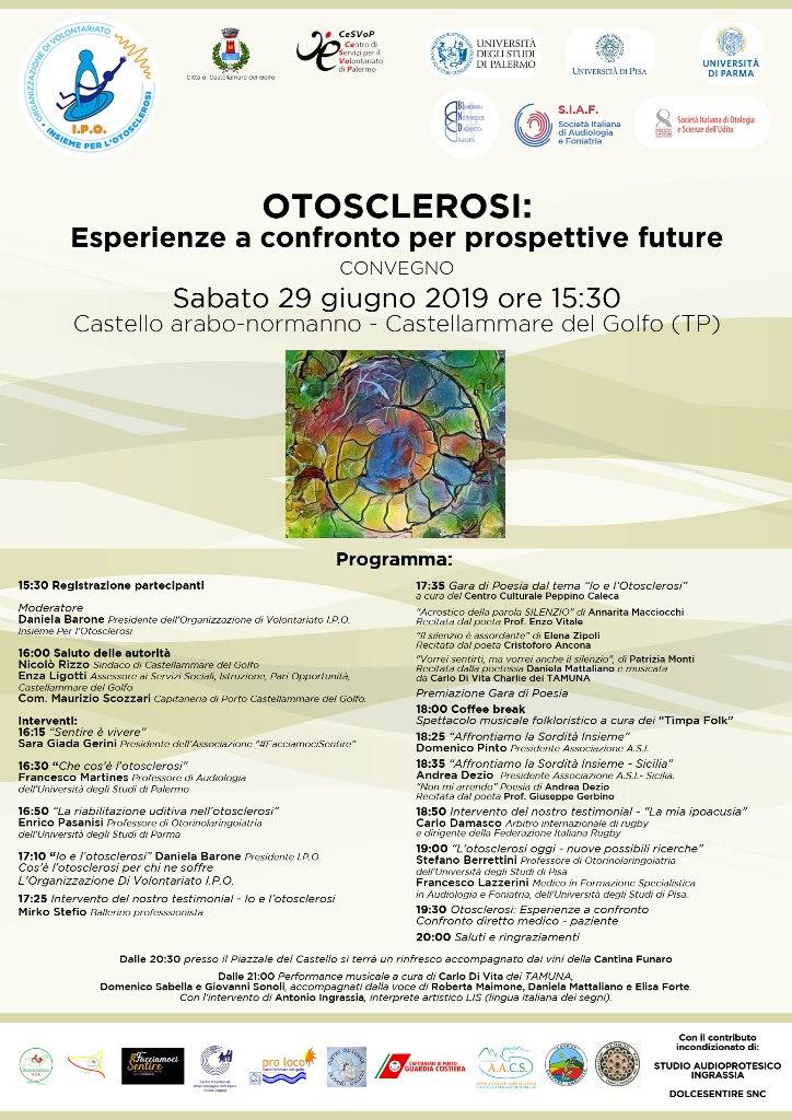 Otosclerosi convegno 29giugno2019