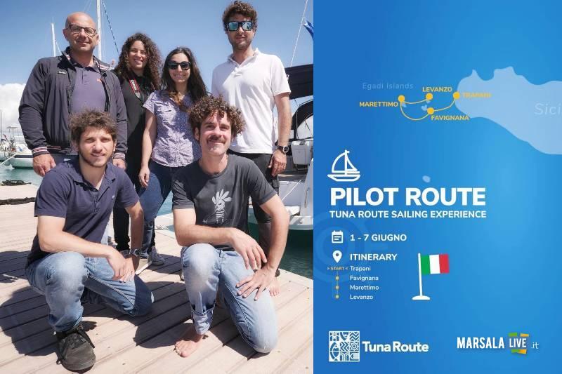 Pesca. progetto Tuna Route, da Trapani