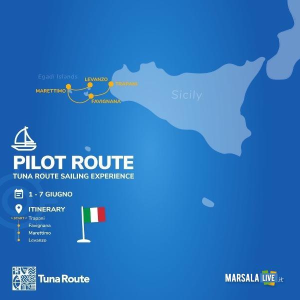 Pilot route percorso