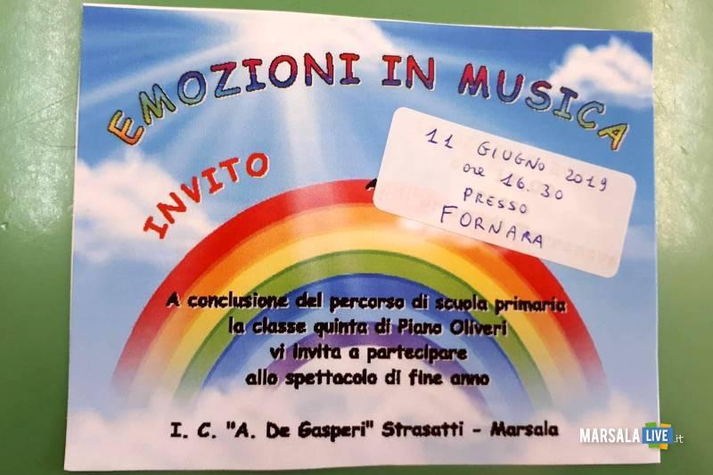 Plesso Piano Oliveri, Emozioni in Musica - Fornara, Marsala
