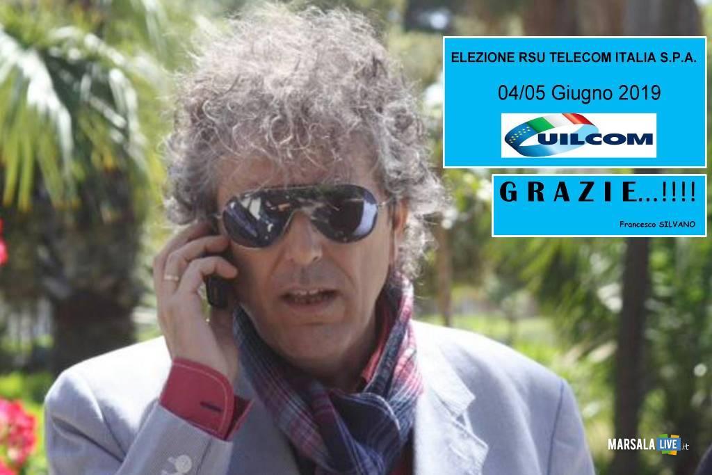 Rsu Telecom Italia, Francesco Silvano - Uilcom