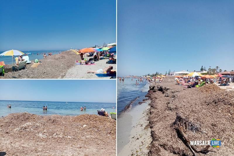 Spiagge a Marsala, fine giugno, Lido Pakeka, Marina e Delfino