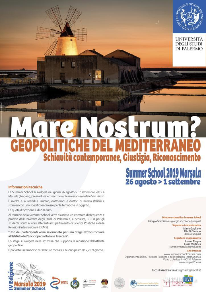 Summer School Marsala