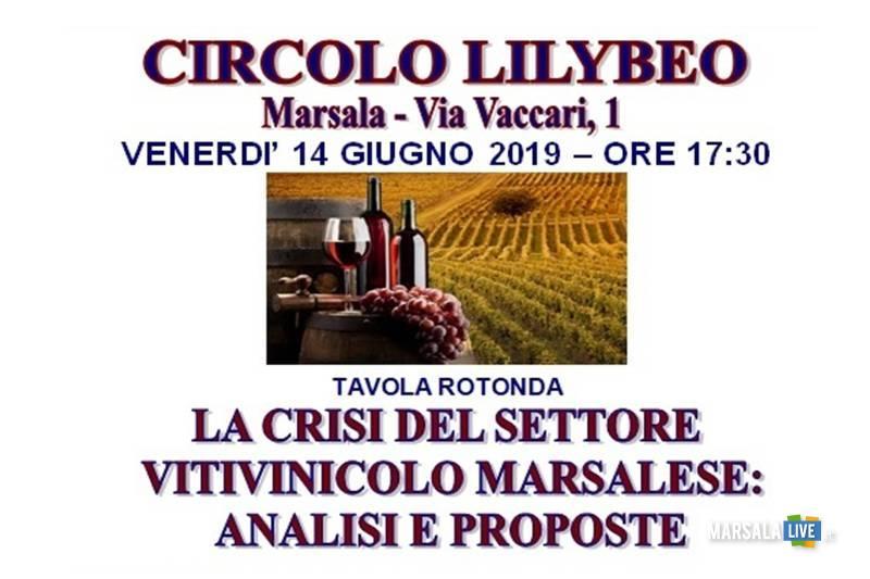 Tavola rotonda sulla crisi vitivinicola marsalese 2019
