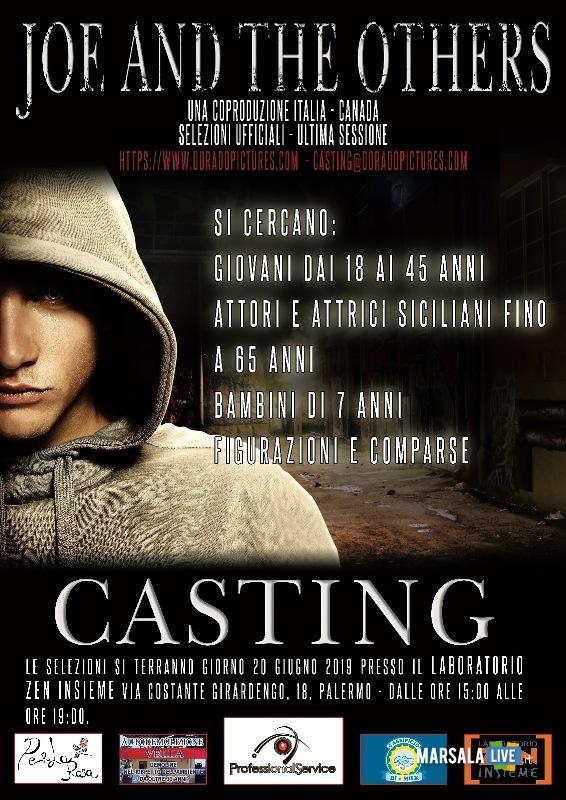 Zen, casting per Joe and the others, film di Luca Fortino. Vucciria