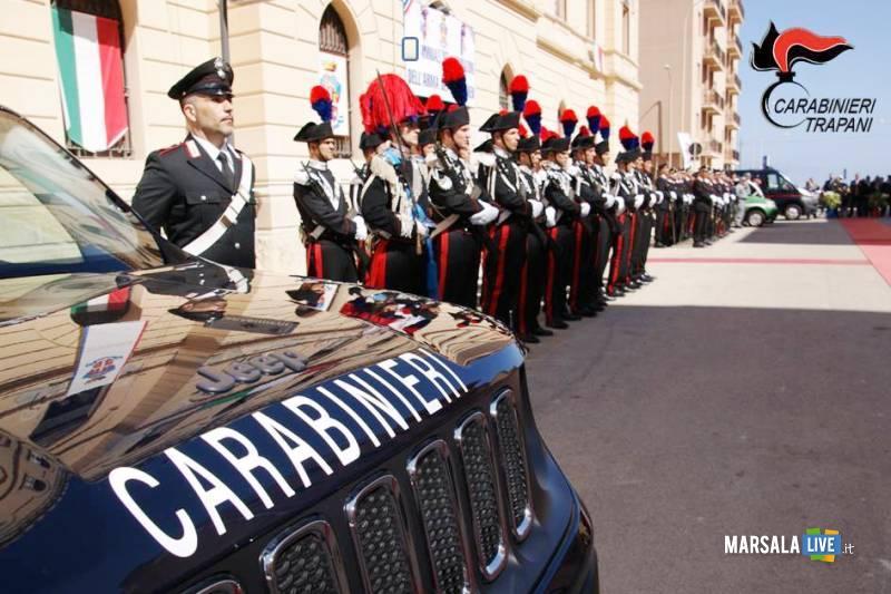 celebrazioni carabinieri, festa Trapani