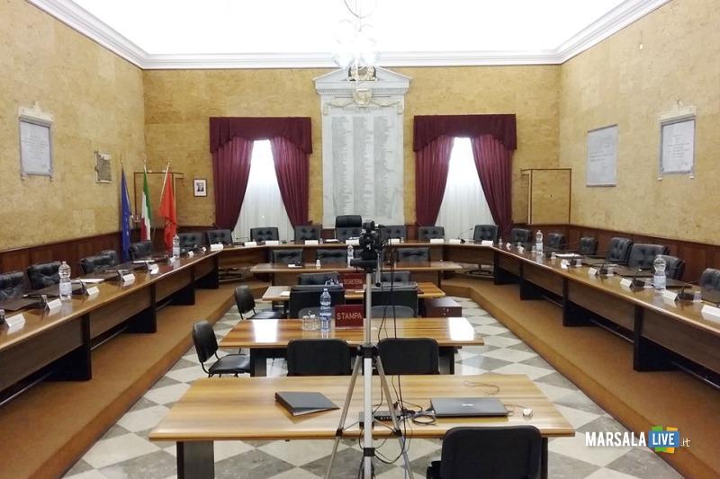 consiglio comunale marsala, aula consiliare