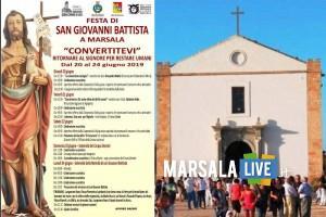 festeggiamenti in onore di San Giovanni Battista - Marsala