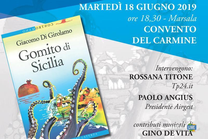 libro Gomito di Sicilia, Giacomo Di Girolamo