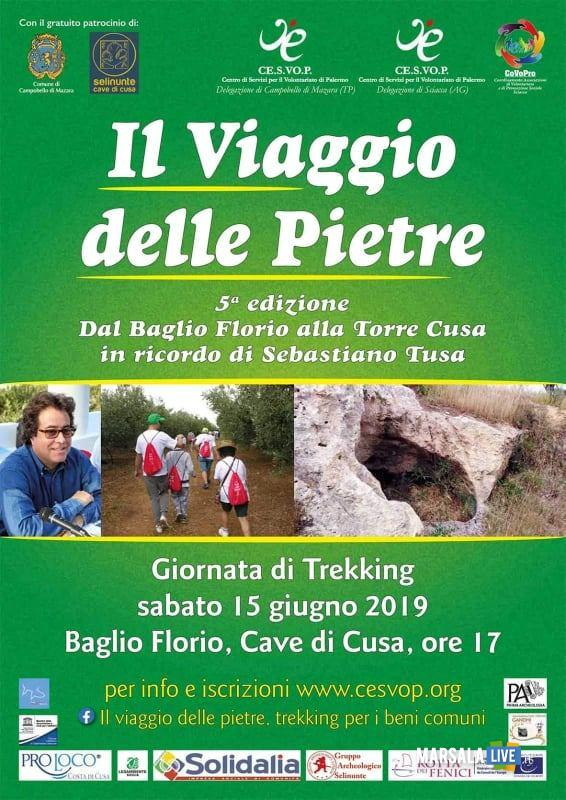 locandina Il viaggio delel Pietre 15.06.2019