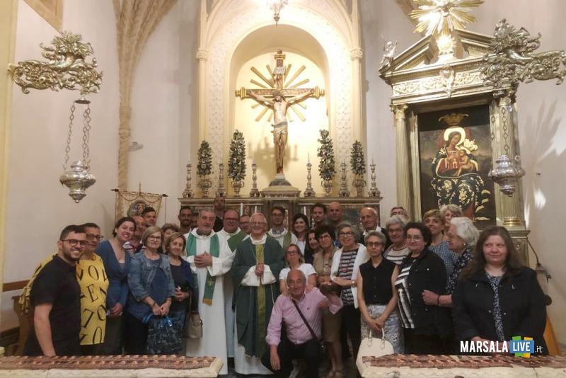 vescovo erice visita pastorale gruppo