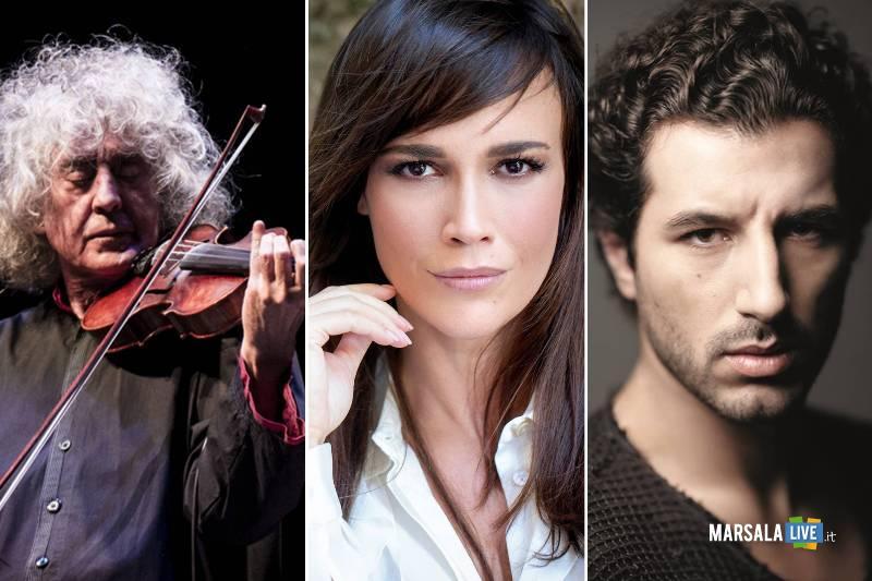 Angelo Branduardi, Francesco Scianna, Roberta Giarrusso