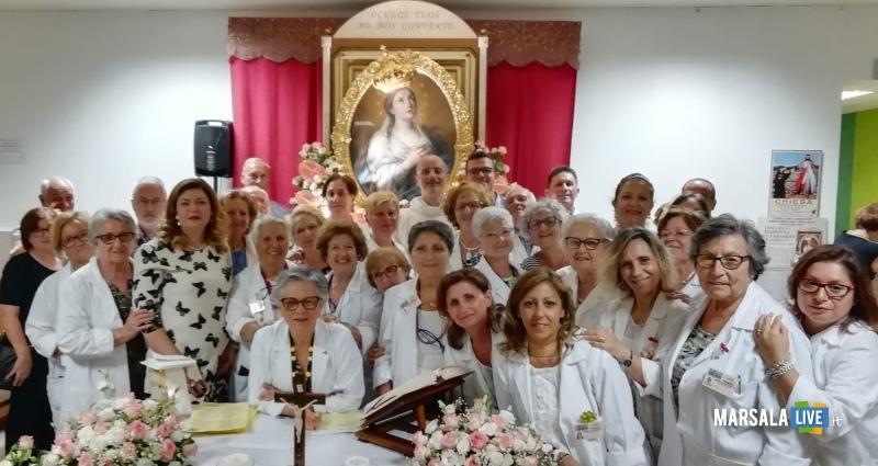 Cappella Ospedale Mazara, visita Madonna del Paradiso (1)