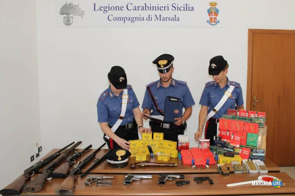 Giuseppe Milazzo, marsala, carabinieri