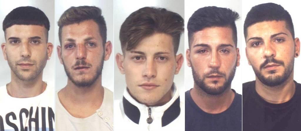 Leonardo Quinci, Ingardia Pietro, Grillo Salvatore, Quinci Leonardo, Giacalone Davide.