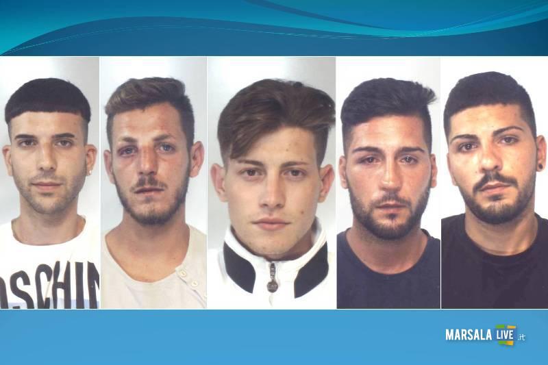 Leonardo Quinci, Ingardia Pietro, Grillo Salvatore, Quinci Leonardo, Giacalone Davide