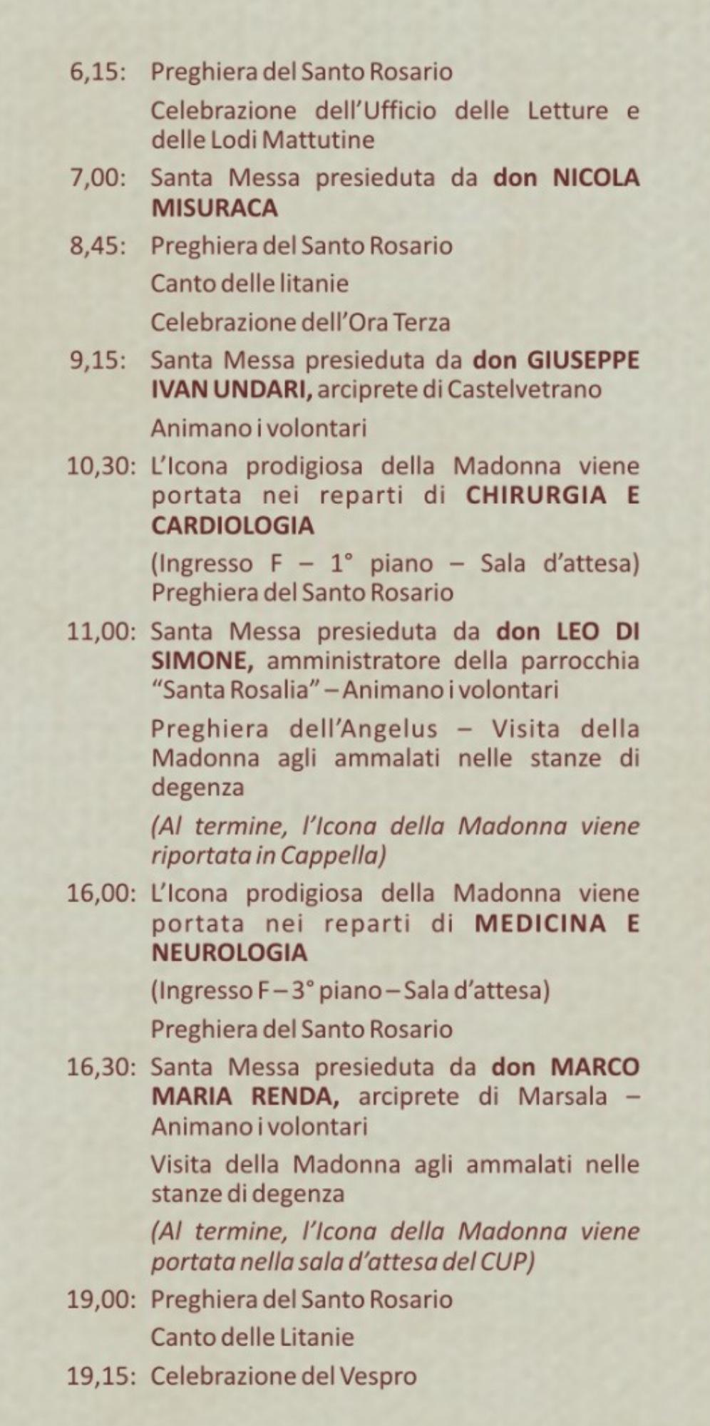 Madonna del Paradiso in ospedale a Mazara (02)