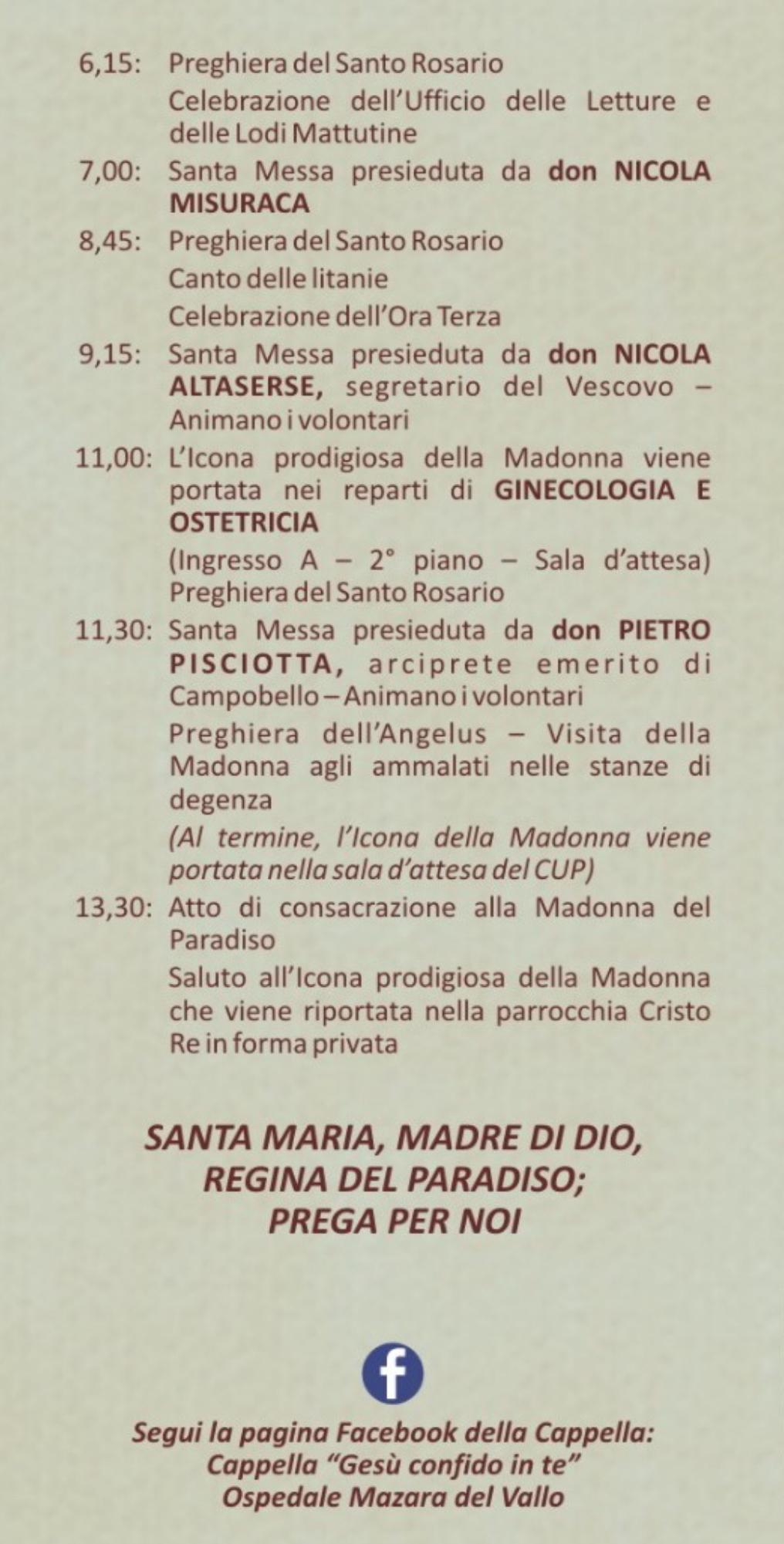 Madonna del Paradiso in ospedale a Mazara (04)