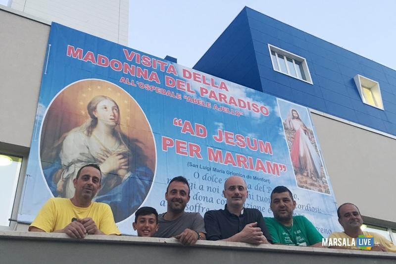 Madonna del Paradiso in ospedale a Mazara (3)