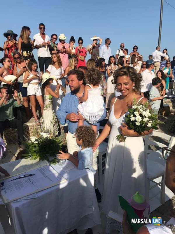 Manuela e Antonio, sposi a Marettimo (2)