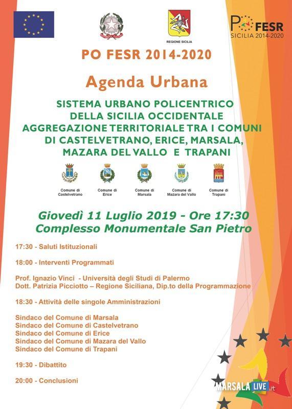 Marsala, Agenda Urbana