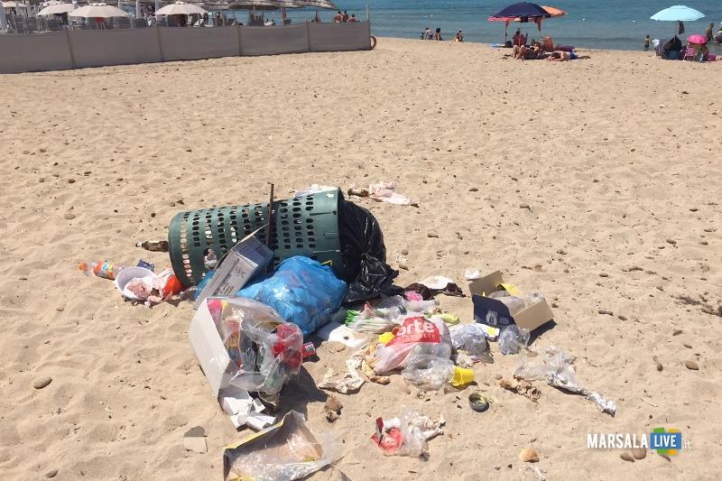 Marsala, Marilena Spiaggia sporca (1)